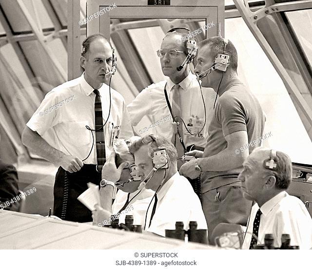 Mission Control Room for Apollo 10