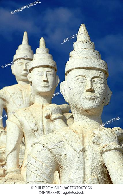 Myanmar (Burma), Mandalay, Mingun site, Paya Settawya