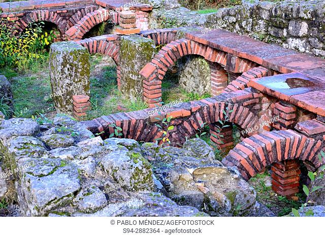 Mansión. Aquis Originis, near Lobios, Orense, Spain