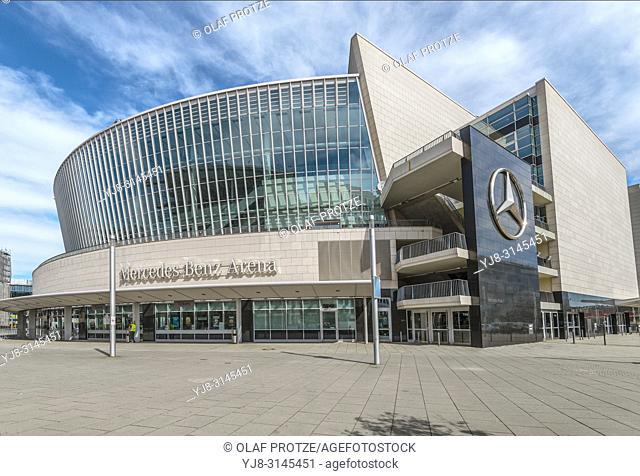 Mercedes Benz Arena Stadium, Berlin, Germany