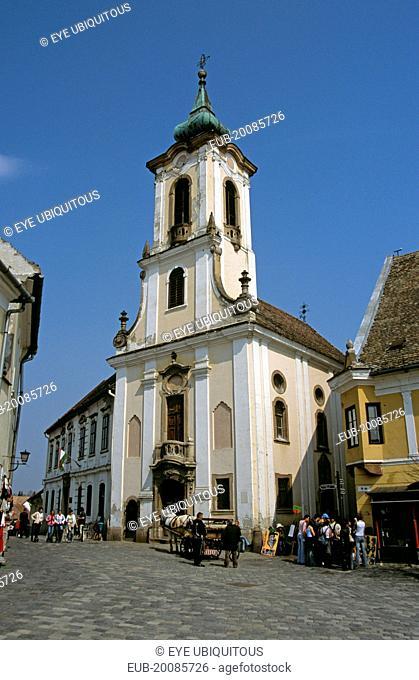 Blagovestenska Church (Serbian Orthodox Church), Main Square