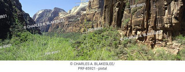Zion Canyon Zion National Park UT
