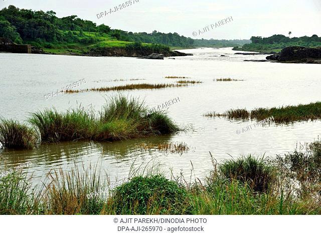 Auranga River, Valsad, Gujarat, India, Asia