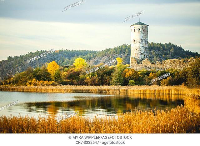 Castle of Stegeborg, Sweden