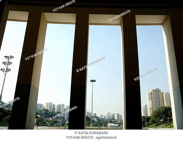 Pacaembu Stadium, Sao Paulo, Brazil