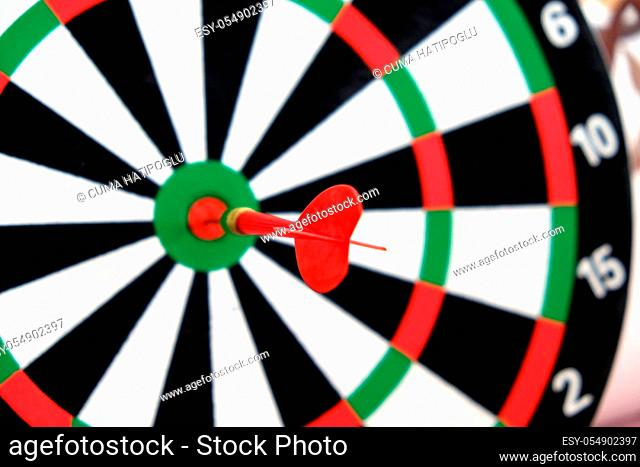 expressing success with dart arrows, success and dart board