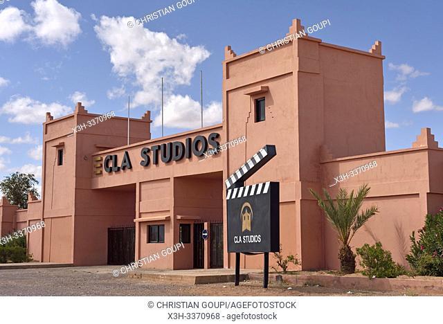 CLA Movie Studios, Ouarzazate, Ouarzazate Province, region of Draa-Tafilalet, Morocco, North West Africa