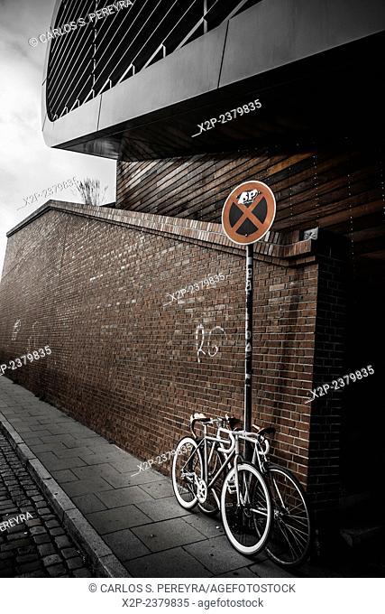 Bicycle in Hamburg, Germany