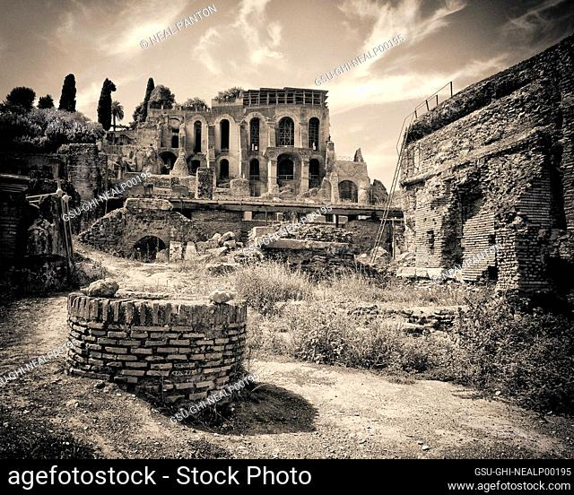Ancient Ruins, Roman Forum, Rome, Italy