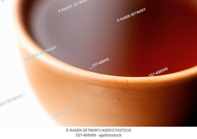 Bowl with black tea