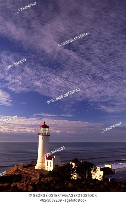 North Head Lighthouse, Cape Disappointment State Park, Lewis & Clark National Historic Park, Washington