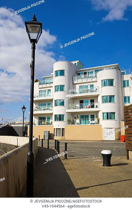 Harbour Point Apartment block. Stuart Street. Cardiff Bay. Cardiff. Caerdydd. South Glamorgan. Wales. UK