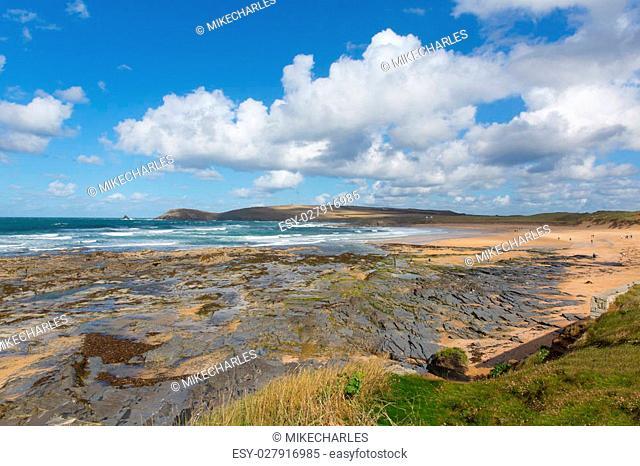 Constantine Bay Cornwall England UK Cornish north coast