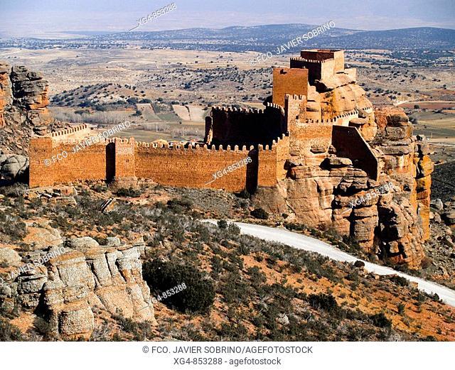 Castle, Peracense. Jiloca, Teruel province, Aragon, Spain