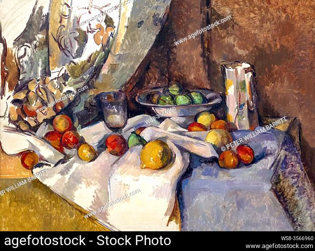 Still Life with Apples, Paul Cezanne, 1895-1898,