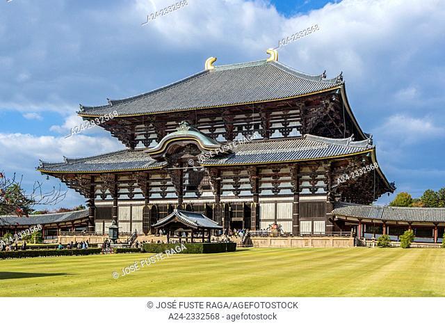 Japan , Kansai , Nara City ,Todai-ji Temple (W.H.)