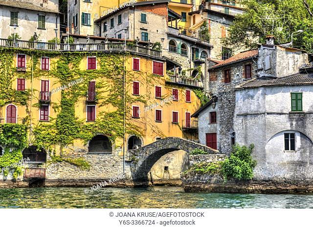 Nesso, Lake Como, Lombardy, Italy, Europe