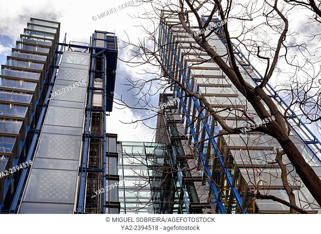 Lloyds Registry Offices at 71 Fenchurch Street in London UK