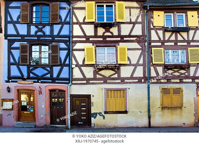 France, Alsace, Colmar, Little Venice