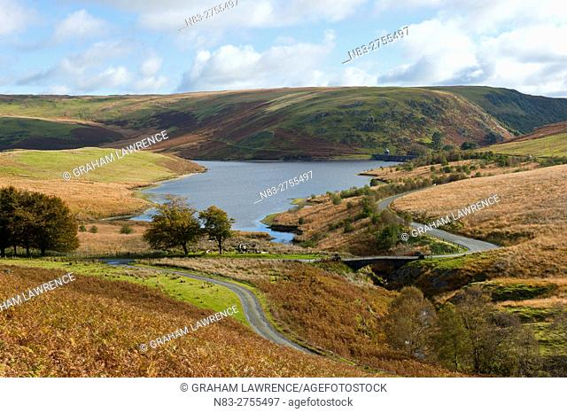An autumn view at Elan Valley, Powys, Wales, UK