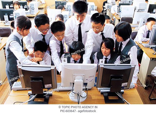 Middle School Students, Korea