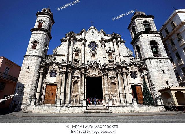 Catedral de San Cristobal, Old Havana, Havana Vieja, Cuba