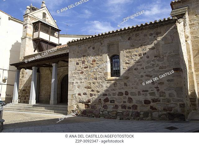 San Antolin church in Zamora Castile and Leon Spain