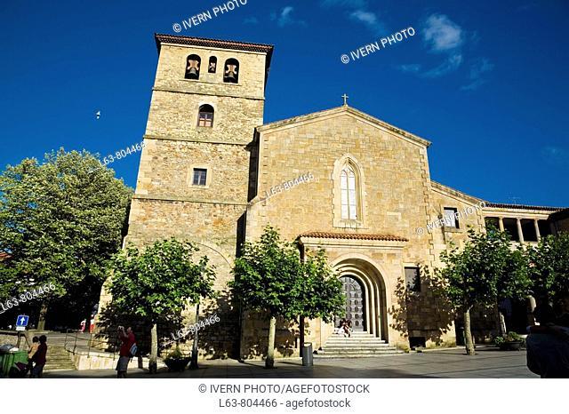 St Nicholas of Bari church, Aviles. Asturias, Spain