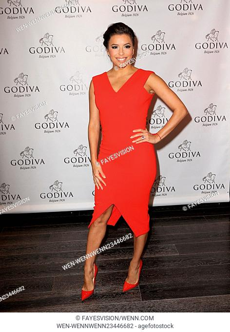 Eva Longoria Celebrates Valentine's Day With Godiva Featuring: Eva Longoria Where: Glendale, California, United States When: 04 Feb 2016 Credit:...