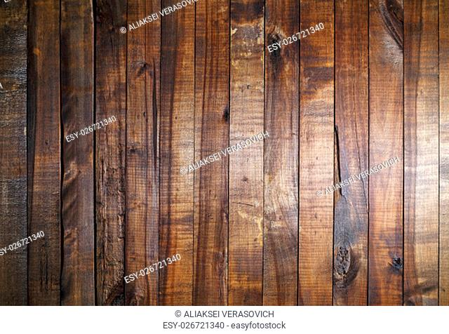 Old wood background. Vintage wooden texture. Weathered wooden background