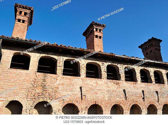 Vignola (Modena, Italy): the upper part of the Castle