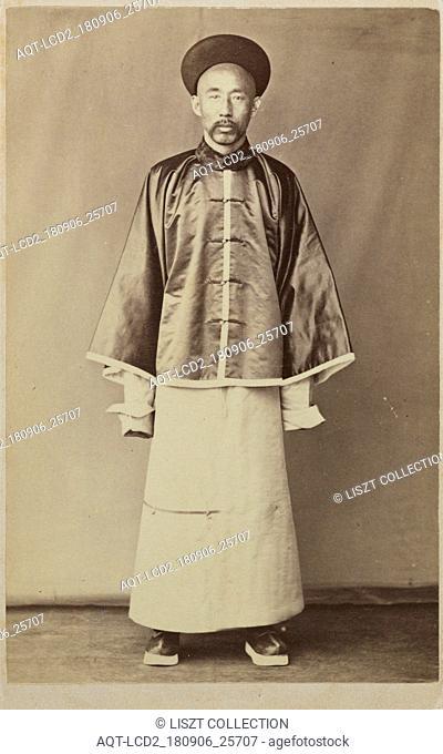 Mandarin; recto, Clark Worswick collection of photographs of China and Southeast Asia, Afong, ca. 1860
