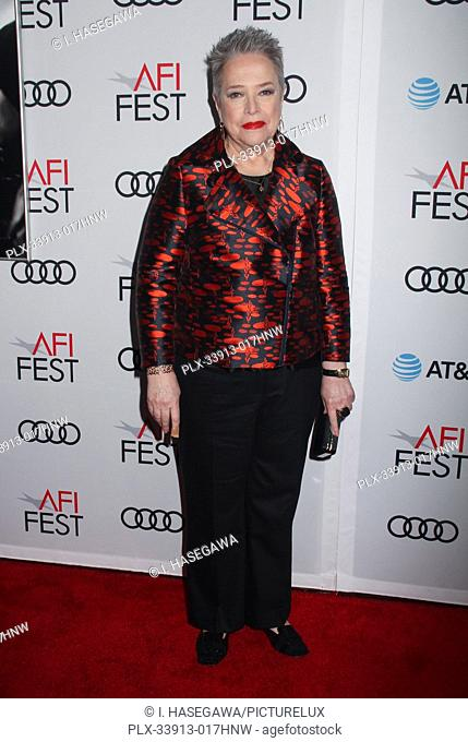 """Kathy Bates 11/20/2019 AFI Fest 2019 Gala Screening """"""""Richard Jewell"""""""" held at the TCL Chinese Theater in Los Angeles, CA. Photo by I"""