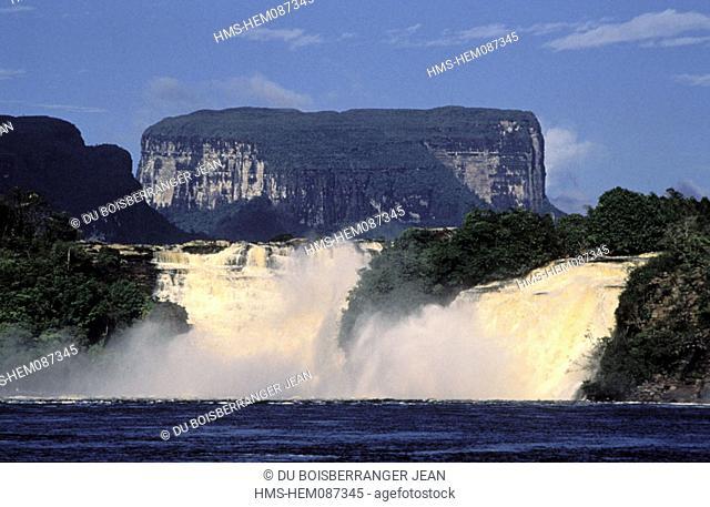 Venezuela, Guayana region, Falls of Canaima