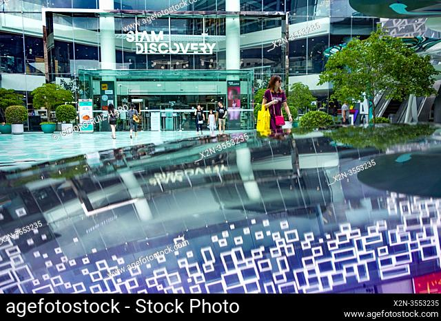 Street scene in Siam Square. Bangkok. Thailand
