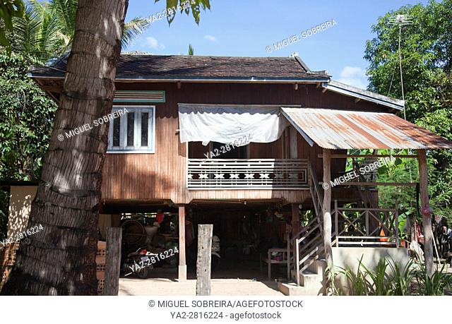 Preah Dak House in Siem Reap Village - Cambodia