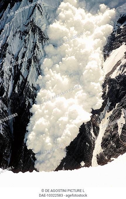 Avalanche, Hindu Kush range