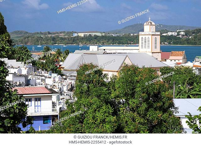 France, Martinique, La Trinite, Sainte Trinite church was completed in 1710