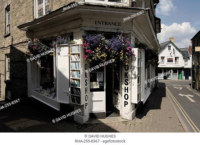 Bookshop, Hay on Wye, Powys, mid-Wales, Wales, United Kingdom, Europe