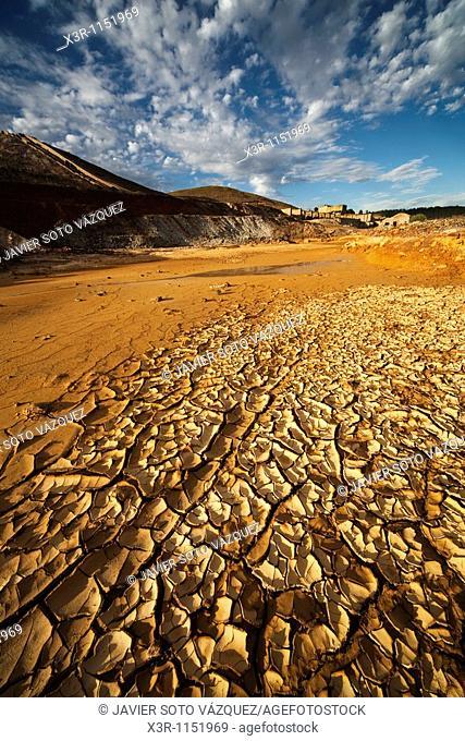 Rio Tinto Mining Landscape in Huelva
