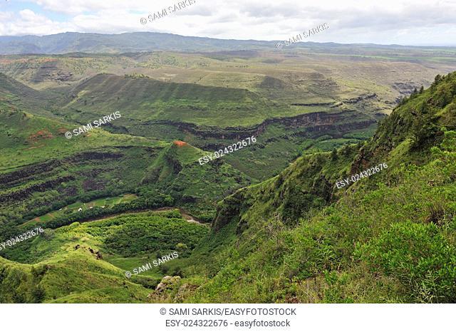 Waimea canyon, Kauai Island, Hawaii Islands, USA