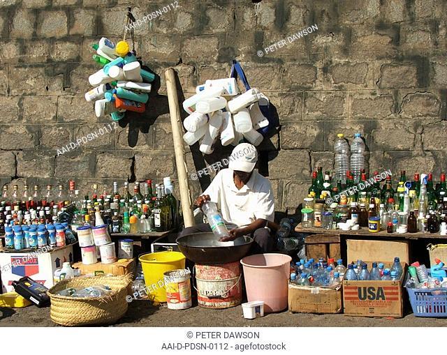 Recycling, Madagascar