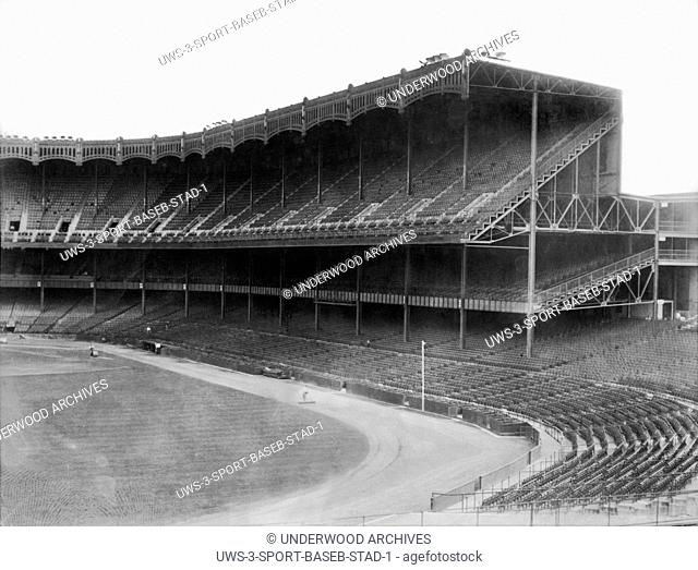 New York, New York: c. 1923.The new Yankee Stadium in the Bronx in New York City