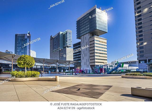 Barcelona City, Diagonal Mar District,