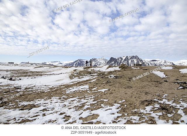 Ytri tunga seal reserve in Iceland Snaefellsnes peninsule