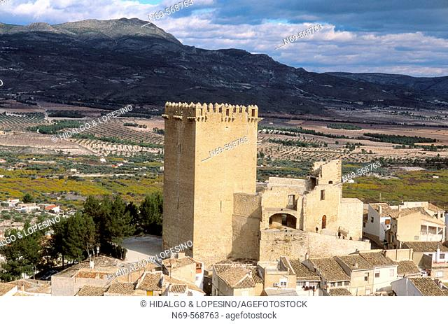 Moratalla. Castle. XVth. Murcia province. Spain
