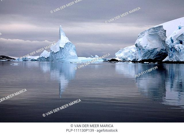 Icebergs in the Lemaire Channel / Kodak Gap, Antarctica