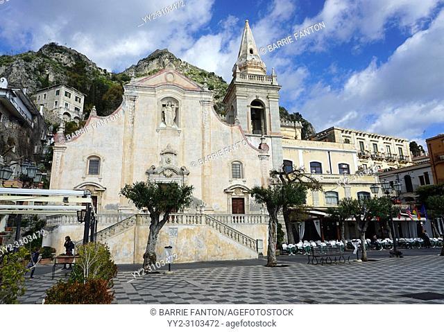 Church of San Guiseppe at Corso Umberto, Taormina, Sicily, Italy