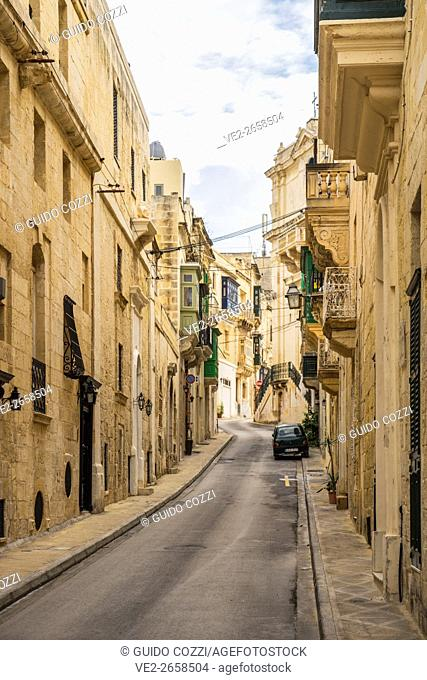 Malta. Valletta, the harbor