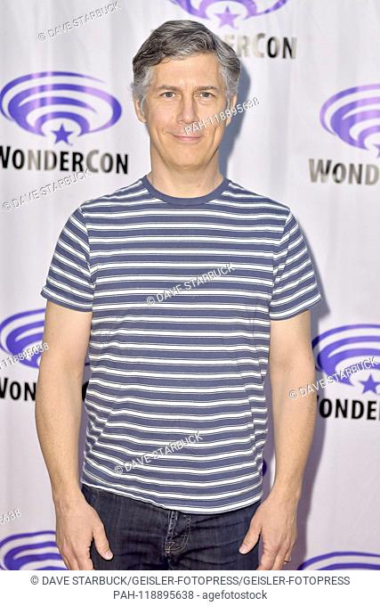 Chris Parnell at the Photocall for FX animation series 'Archer' at WonderCon 2019 at the Anaheim Convention Center. Anaheim, 31.03